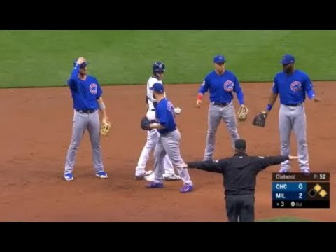 MLB Confusing Plays