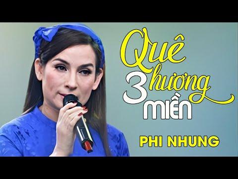 Phi Nhung - QUÊ HƯƠNG BA MIỀN [Liveshow Mạnh Quỳnh - Chỉ tại tôi nghèo] (Full HD)