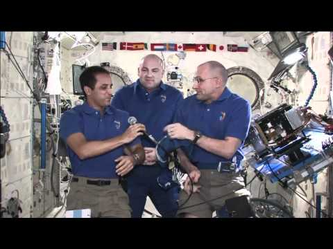 Don, Joe and Andre Discuss ISS Life and Science