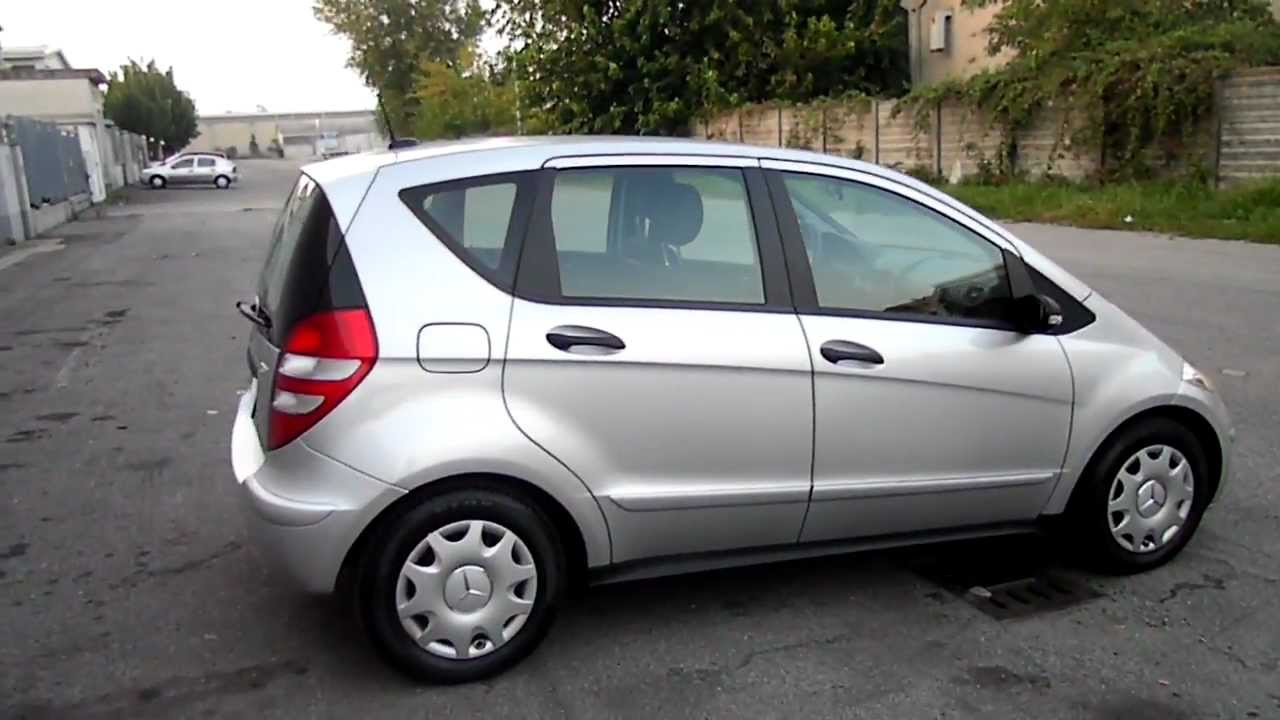sam 8651 mb mercedes benz classe a a180 cdi 2006 5 porte esterno youtube