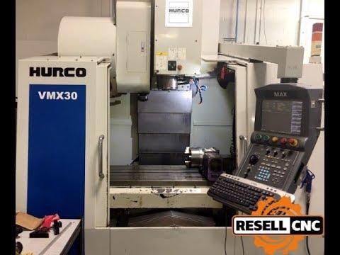 2006 Hurco VMX30 CNC Vertical Mill
