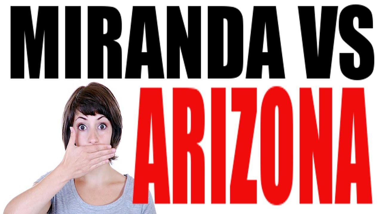 Miranda vs Arizona: US History Review - YouTube