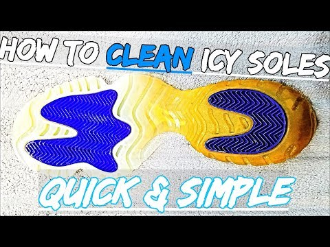 How To Clean Icy Soles (Quick & Simple) | Ultimate Icy Bottom Cleaner