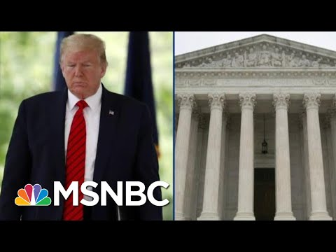 Trump Could Lose Crucial Tax Return Case After Tough Supreme Court Hearing | MSNBC from YouTube · Duration:  2 minutes 46 seconds