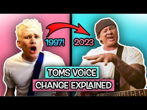 Tom Delonge On His VOICE CHANGE!