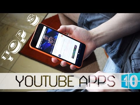 TOP 3 - Youtube Apps for Windows 10 Mobile (My TOP 3)