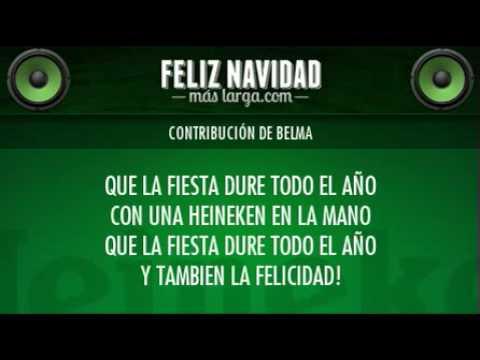 Heineken Feliz Navidad.Belma Para Una Feliz Navidad Mas Larga