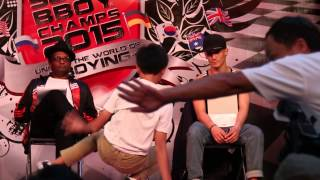 SG Bboy Champs 2015 - Chopper vs Zazzles