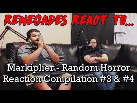 Renegades React to... Markiplier - Random Horror Reaction Compilation #3 & #4