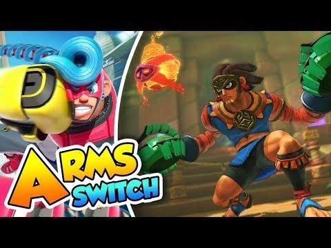 ¡Misango y su mascara tribal! - #20 - ARMS (Nintendo Switch) DSimphony