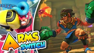 ¡Misango y su mascara tribal! - #20 - ARMS (Nintendo Switch) DSimphony thumbnail