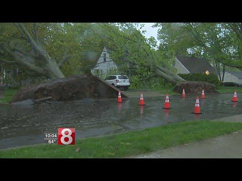 Storm tears through Hamden leaving plenty of damage