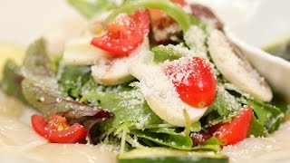 How to Make Japanese-inspired Carpaccio with Shiso Pesto Sauce 和風カルパッチョ 大葉のジェノベーゼソース風 作り方 レシピ