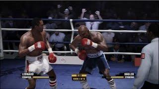 Fight Night Champion - Sugar Ray Leonard vs. Marvin Hagler | PS3 Gameplay
