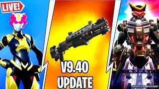 🔴 *NEW* V9.40 UPDATE LEAKS, SKINS, CATTUS VS DOGGUS EVENT, TACTICAL SHOTGUN FORTNITE LIVE thumbnail