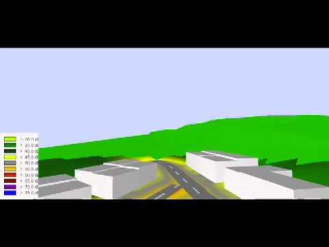 Simulación de Ruido 4D industrial