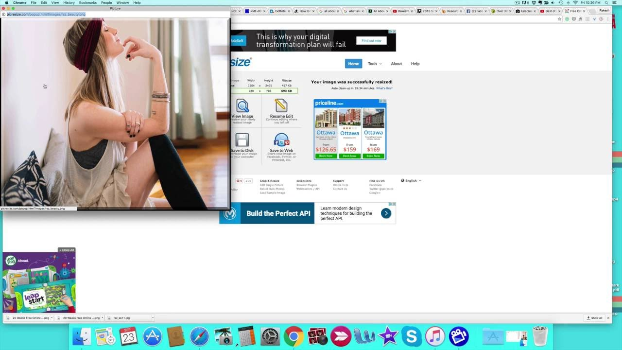 How To Resize Your Image Youtube