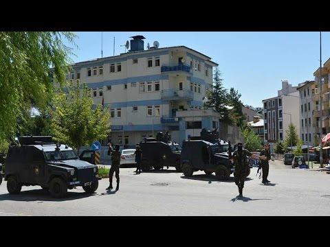 Tunceli kent merkezinde çatışma