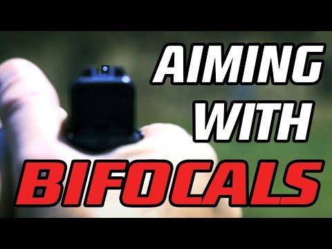 aiming-a-handgun-with-bifocal-and-trifocal-lenses