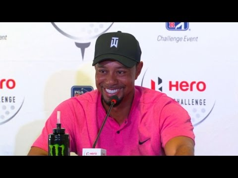 Tiger Woods talks equipment before Hero World Challenge
