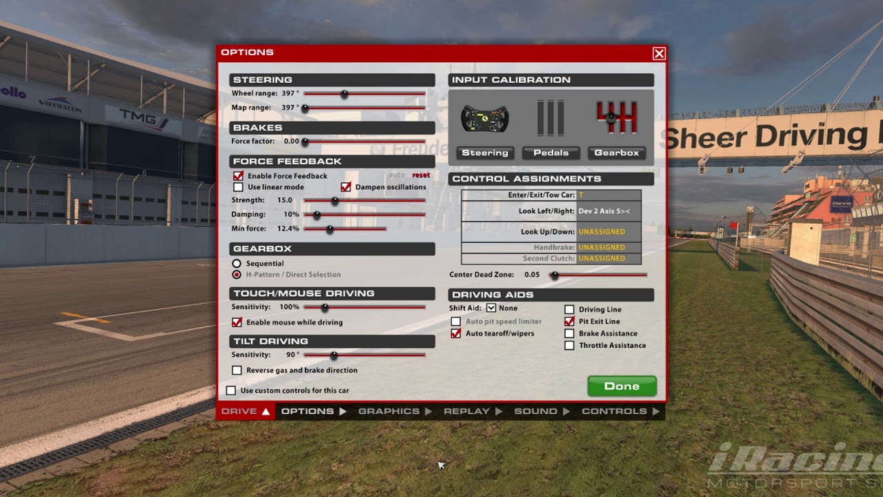 Iracing graphics tweaks