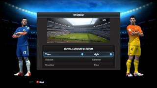 PES 2013 First Demo - Unlock 25 teams patch full preview