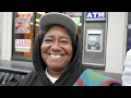 Linda and her sister became homeless because they could  not pay rent.