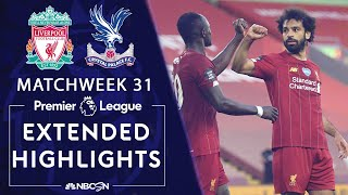 Liverpool v. Crystal Palace | PREMIER LEAGUE HIGHLIGHTS | 6/24/2020 | NBC Sports
