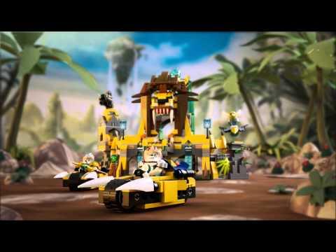 LEGO Chima - 70010 Храм ЧИ Клана Львов