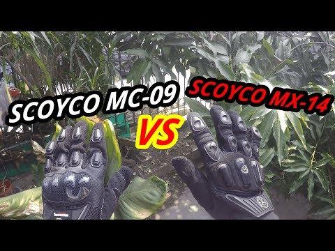 SCOYCO MC 9 VS SCOYCO MX 14   LEBIH NYAMAN MANA NIH??