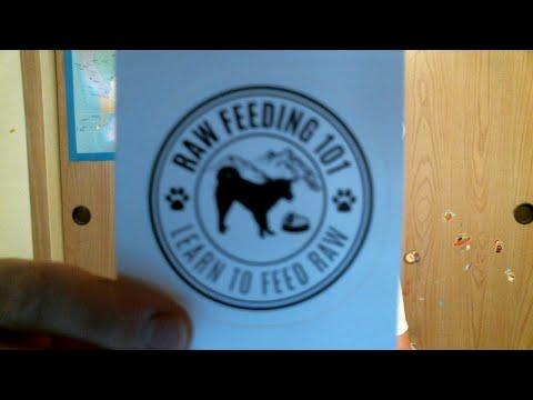 Raw Feeding Dog Dad Live Stream 5/8/18