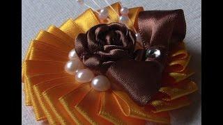New flower model on tape -Novo Modelo de Flor em fitas de Cetim Passo a Passo
