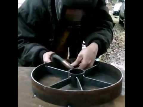 Building a wagon wheel