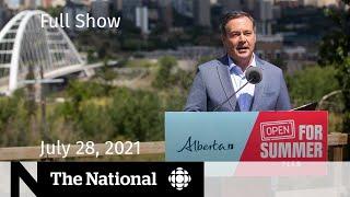 CBC News: The National   Alberta COVID-19, Tokyo 2020, fertility doctor settlement