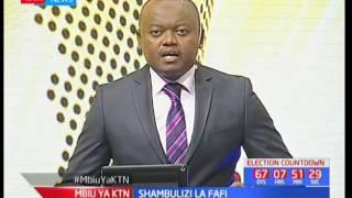 Raila Odinga ahudhuria sherehe za siku kuu ya Madaraka mjini Nyeri: Mbiu ya KTN