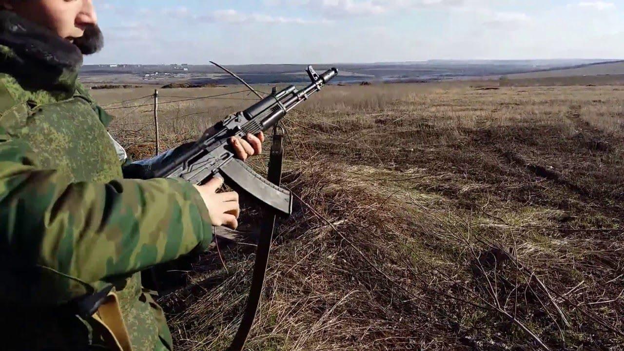 ДТК для АК-74 5,45х39: стрельба - YouTube