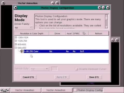 QNX 1.4mb Floppy Disk Demo
