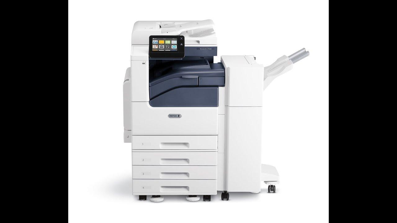 VersaLink C7000 Series • Just•Tech