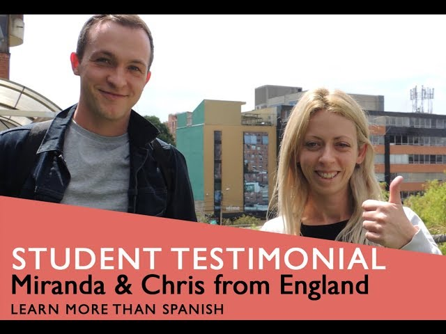 General Spanish Course Student Testimonial by Chris $ Miranda from England