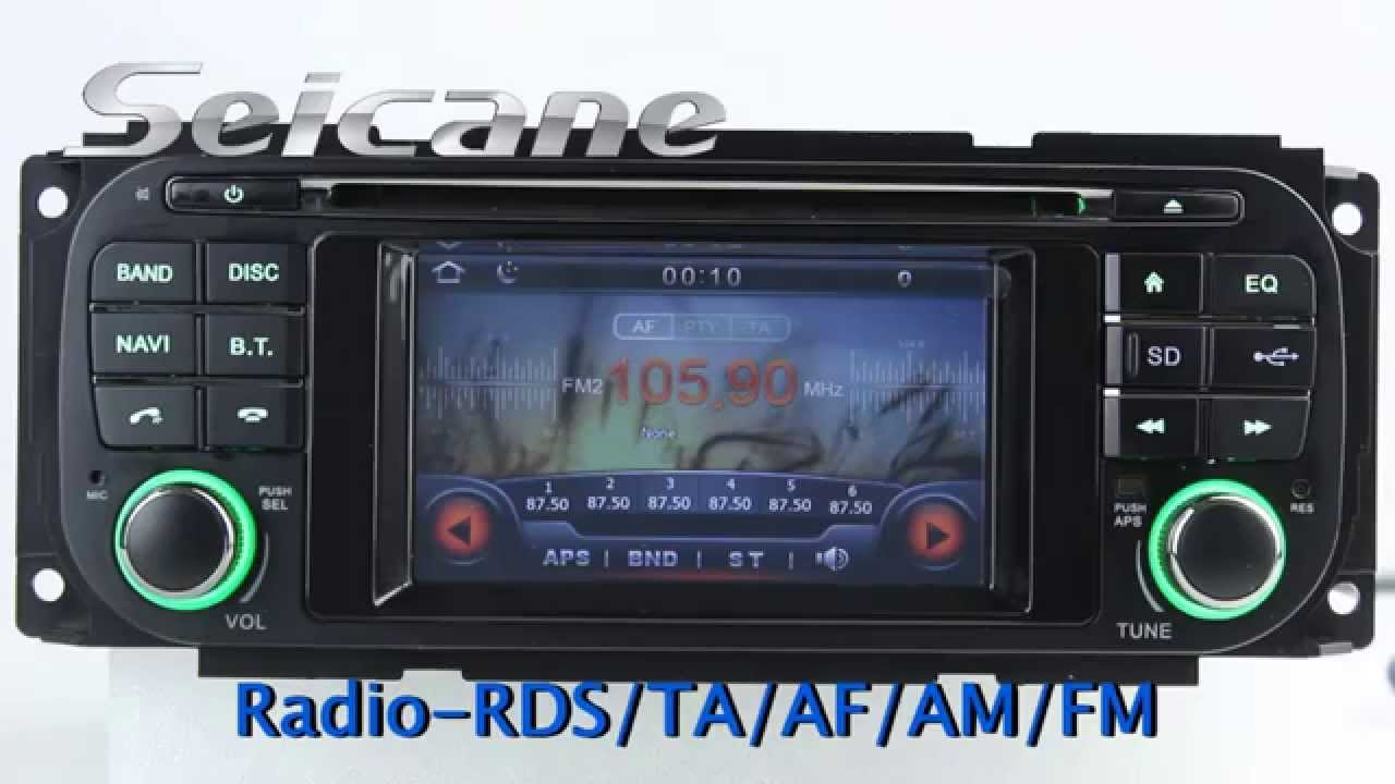 1999 2004 Jeep Grand Cherokee In Dash Navigation Radio Dvd Support Night Mode 3 Band Eq You