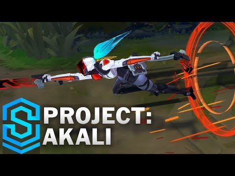 PROJECT: Akali Skin Spotlight - Pre-Release - League of Legends