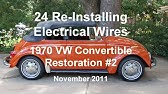42 Of 44 1970 Vw Beetle Electrical Schematics Wmv Youtube