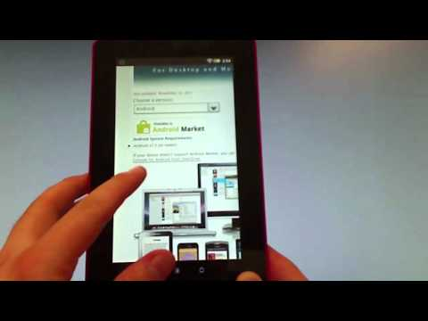 How to install OverDrive Media Console on a Kobo Vox