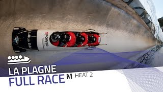 La Plagne | BMW IBSF World Cup 2019/2020 - 4-Man Bobsleigh Heat 2 | IBSF Official