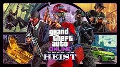 GTA V Diamond Casino Heist All Cutscenes (Grand Theft Auto Online) Game Movie 1080p HD