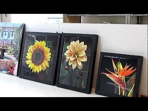 Tile Art Murals by Jacobson...Small to Extra Large.MOV