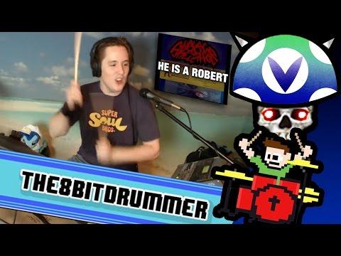 [Vinesauce] Joel - The8BitDrummer Host ( Robert Cop Live )