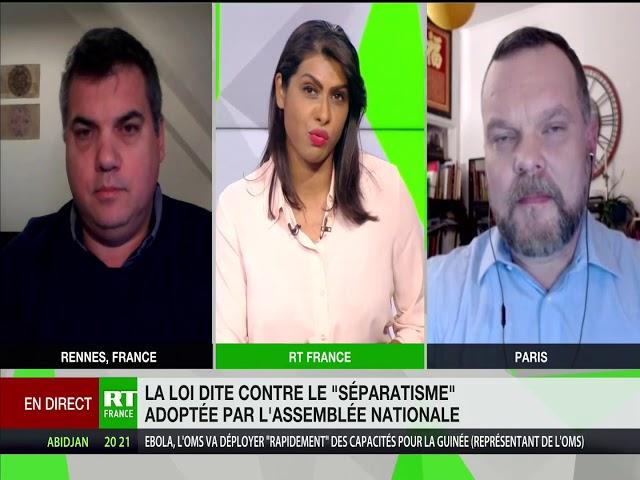 RT en Français - Débat entre Emeric Salmon et Djordje Kuzmanovic