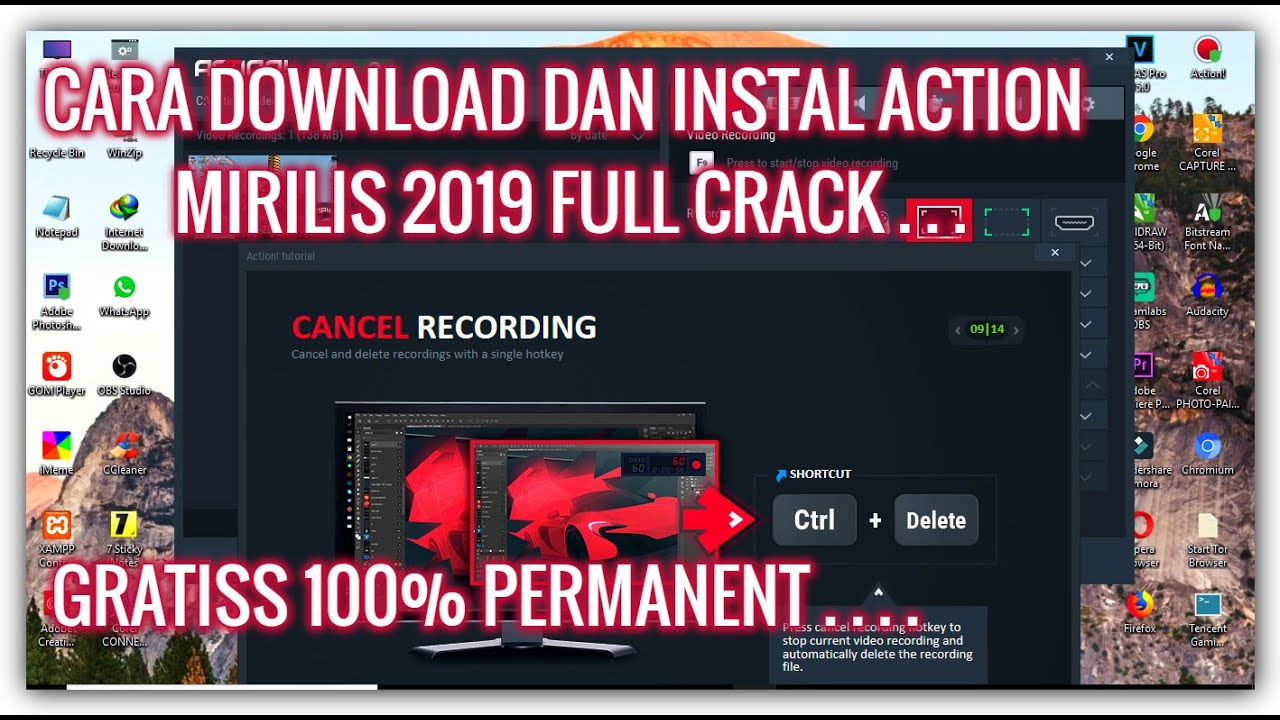 Cara Download Dan Instal Aplikasi Action Mirilis 2019 Full Crack Gratis 100% Permanent