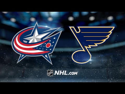 Upshall leads Blues to 4-1 win against Blue Jackets